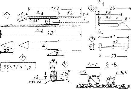 Как изготовить челнок для вязания рыболовных сетей 98